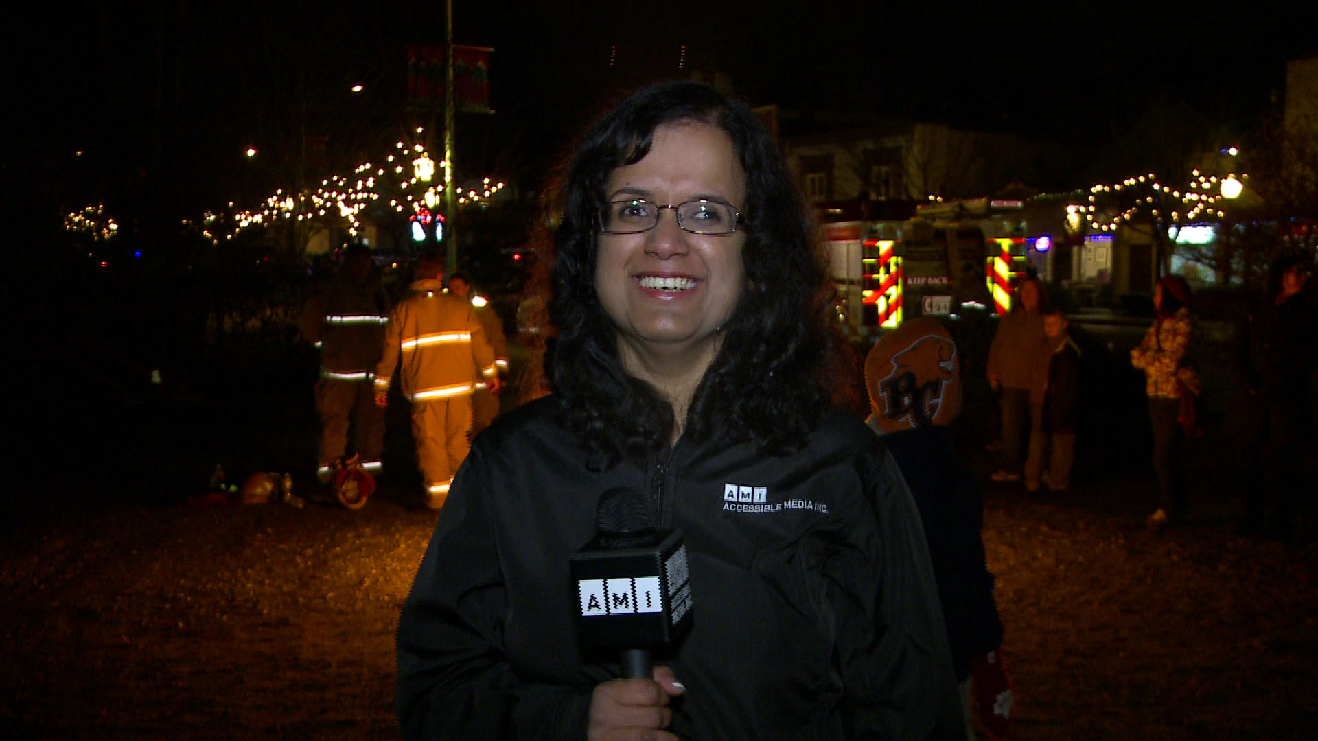 Kristy and the CP Holiday Train
